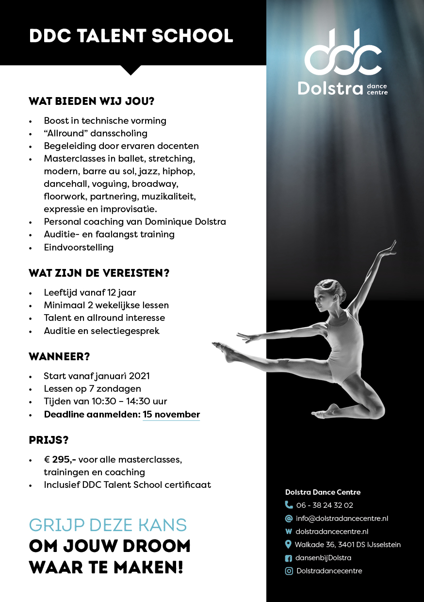 Dansschool IJsselstein - Dolstra Dance Centre Talent School - pagina 2
